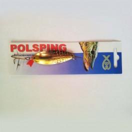 Polsping Ploc 12g väri messinki lusikkauistin