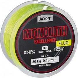 JAXON Monolith Excellence Fluo 0,10mm / 125m / 8kg kuitusiima
