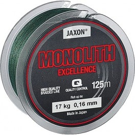 JAXON Monolith Excellence 0,10mm / 125m / 10kg kuitusiima