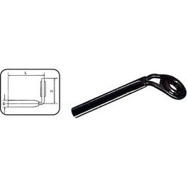 Jaxon przelotka szczytowa feeder alu-oxyd No 4 śr. 1.0mm