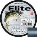 Żyłka Dragon Elite Pstrąg 0,20mm 150m szaroniebieska