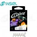 Haki Insel Cobra 7535 8 + przypon 0,16 70cm CIASTO 10szt/op