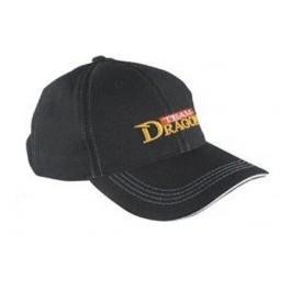 Czapka z daszkiem DRAGON baseball stretch czarna