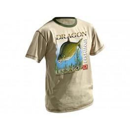 Dragon t-paita, lahna Sand
