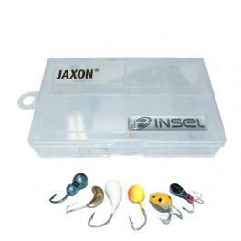 Zestaw ICE100 - 6 mormyszek + pudełko RH-106