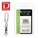 Dragon SPIN LOCK laakerileikari No 4 / 5kpl/pkt