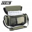 Jaxon UJ-XTZ05 kalastuslaukku 42x22x22cm + 3 rasiat RH-101