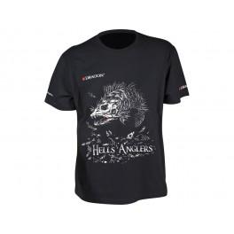 Dragon t-paita, HELLS ANGLERS Kuha Musta XXL