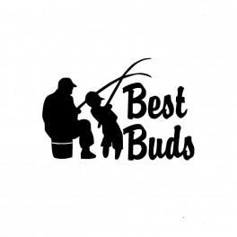 """Autotarra """"Best Buds"""" 19,1x12,7cm musta"""