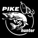 """Nakejka samochodowa """"Pike Hunter"""" 13,3X14cm biała"""