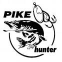 """Nakejka samochodowa """"Pike Hunter"""" 13,3X14cm czarna"""