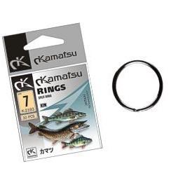 Kamatsu Split Rings uistinrengas 15 mm / 10 kpl