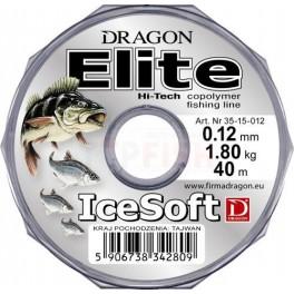 Dragon Elite Ice Soft żyłka podlodowa 0.08mm / 40m / 1.0kg